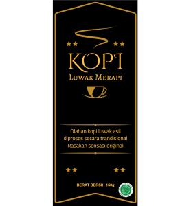 Coffe Labels Luwak