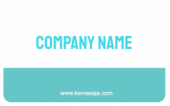 Business identity card templat