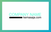 Color for business card templa